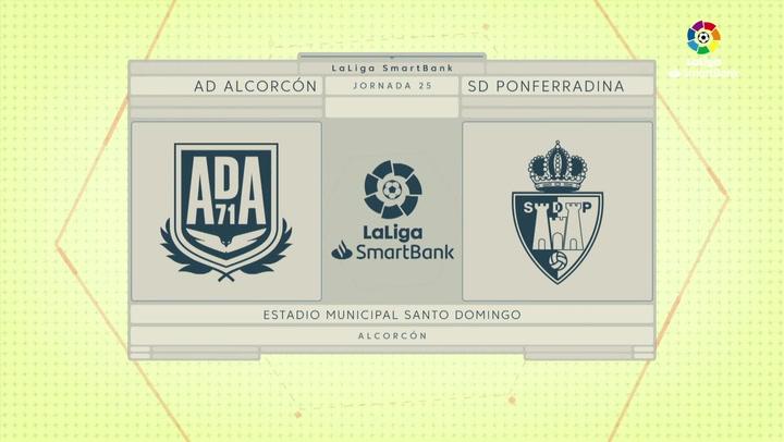 LaLiga SmartBank (J25): Resumen del Alcorcón 3-1 Ponferradina