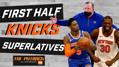 The Putback with Ian Begley: Dishing out awards for first half of Knicks' season