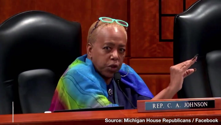 """I Know"" Poll Challengers ""Are Lying"" — MI Democrat State Rep. Melts Down at Election Hearing"