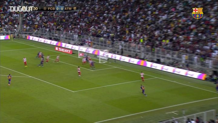 FC Barcelona 2-3 Atlético de Madrid: Spanish Supercup Highlights