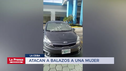 Atacan a balazos a una mujer en La Ceiba