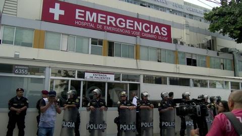 Expresidente de Perú Alan García muere tras dispararse un tiro