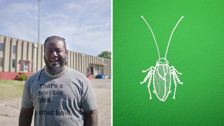 T-Pain's Encounter With A Roach
