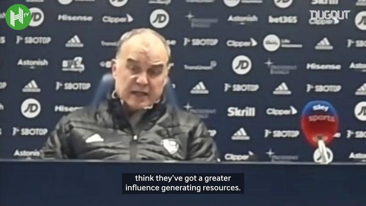 Bielsa: 'Football belongs to everyone'