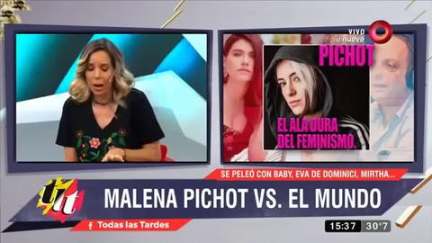 Maju Lozano levantó un móvil con Malena Pichot y saltó el escándalo