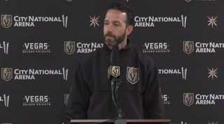 Golden Knights Coaches Looking for Veterans to Step Up in Development Camp – Video