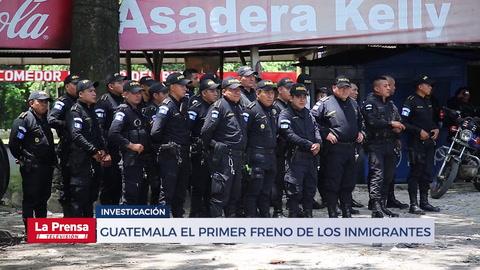Guatemala el primer freno de los Inmigrantes