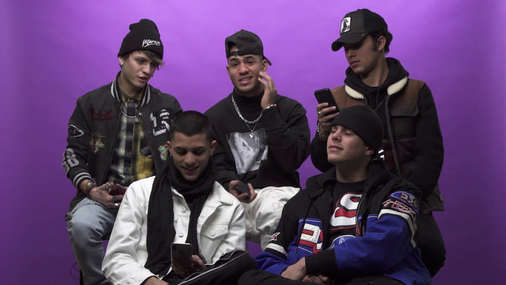 CNCO Shows Us Their Spiciest DMS