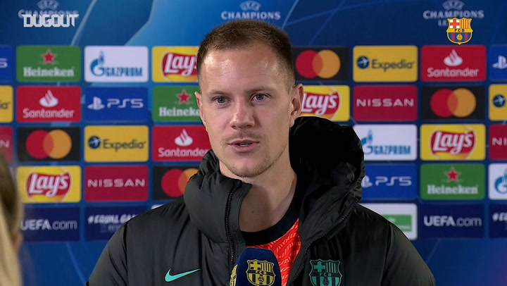 """Ter Stegen: """"I really wanted to come back"""""""