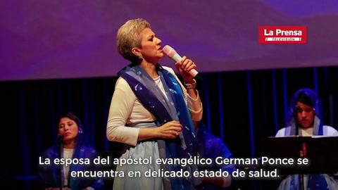 Evangélicos hondureños sumados en oración por la pastora Ninoska de Ponce
