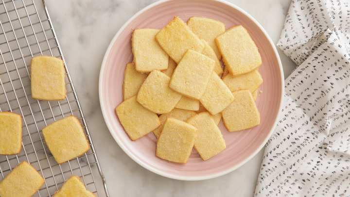 Melt-in-your Mouth Butter Cookies