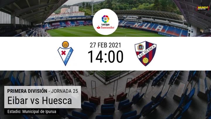 La previa del Eibar-Huesca