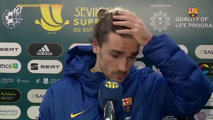 """Griezmann tras la derrota en la final: """"Estamos enfadados, jodidos, tristes"""""""