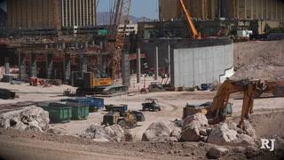 Las Vegas Raiders Stadium Progress