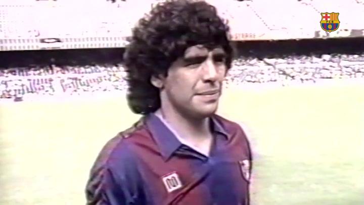 Maradona, el principal nexo entre el Barça de Messi y el Nápoles