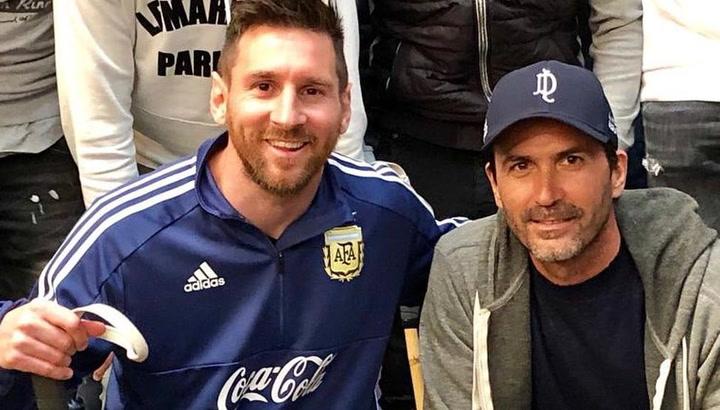 Messi se anima a jugar al polo