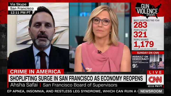 San Francisco Supervisor: 'We're Putting More Resources' into Police Because Police Presence Decreases Crime 'Dramatically'