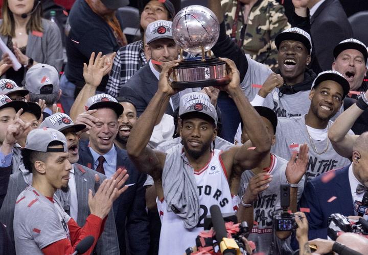 Kawhi Leonard ha metido al equipo en la final de la NBA