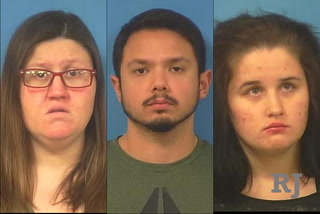3 Pahrump residents arrested on false imprisonment charges