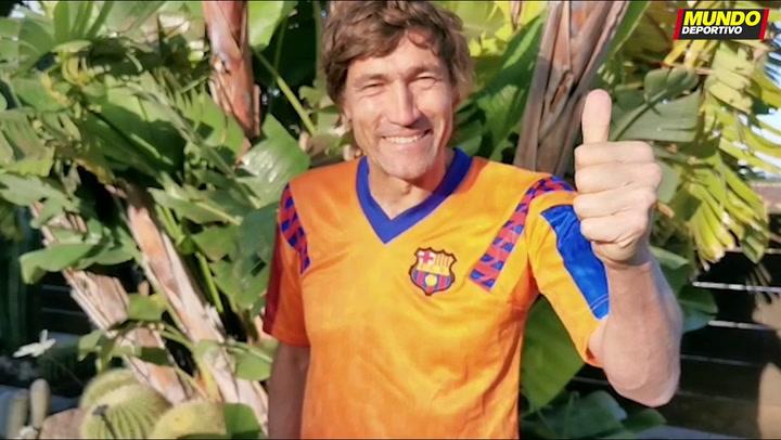 """Julio Salinas: """"Disfrutad, ahora os toca a vosotras ganar la Champions"""""""