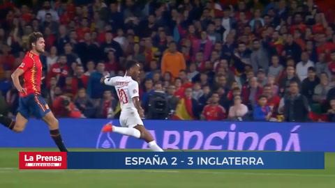 España 2 - 3 Inglaterra