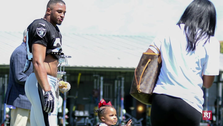 Raiders Safety Johnathan Abram And Wife Bri Anna On Being