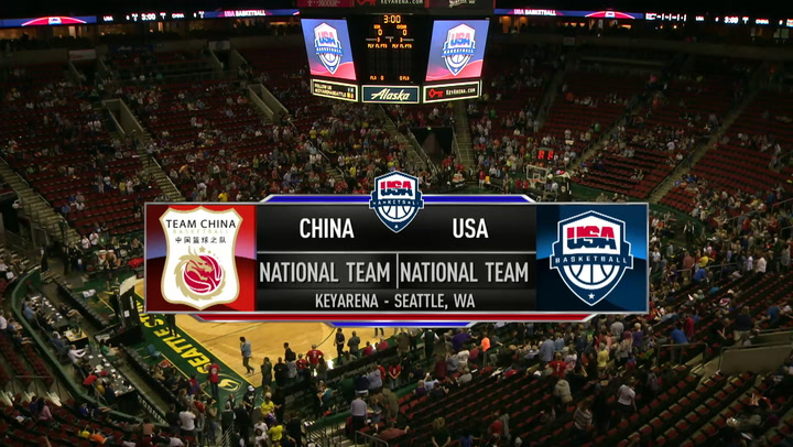 USA Basketball 2018 Women's National Team Vs China Exhibition