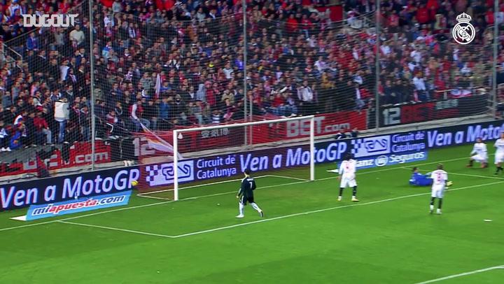 Kumpulan Momen Terbaik Karim Benzema Lawan Sevilla