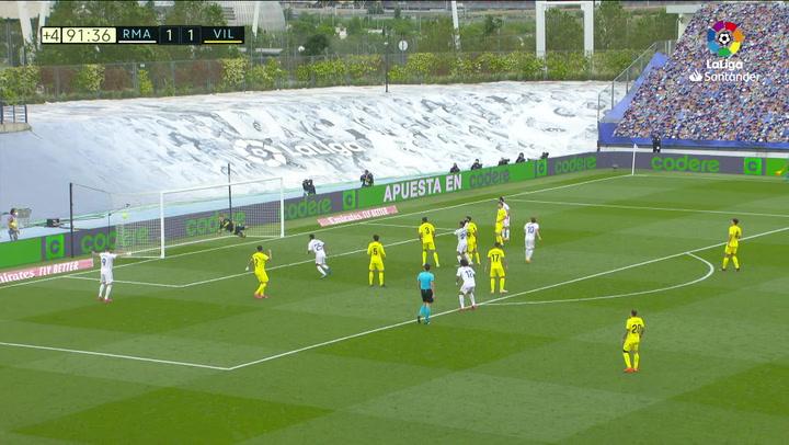 Gol de Modric (2-1) en el Real Madrid 2-1 Villarreal
