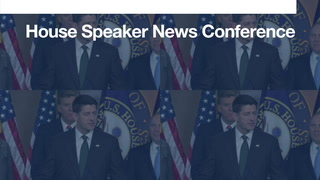 Your morning 90-second news update: House speaker news conference