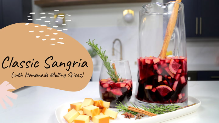 Classic Sangria (with homemade mulling spices)
