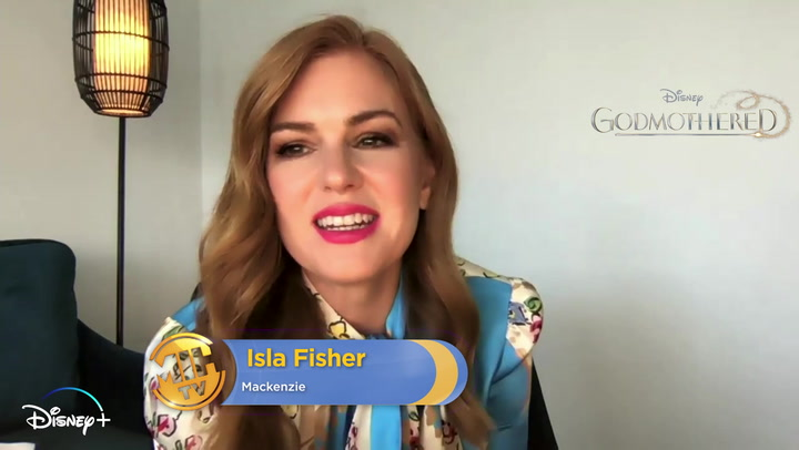'Godmothered' Interview wth Isla Fisher
