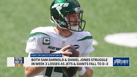 FNNY: Daniel Jones and Sam Darnold are going the wrong way