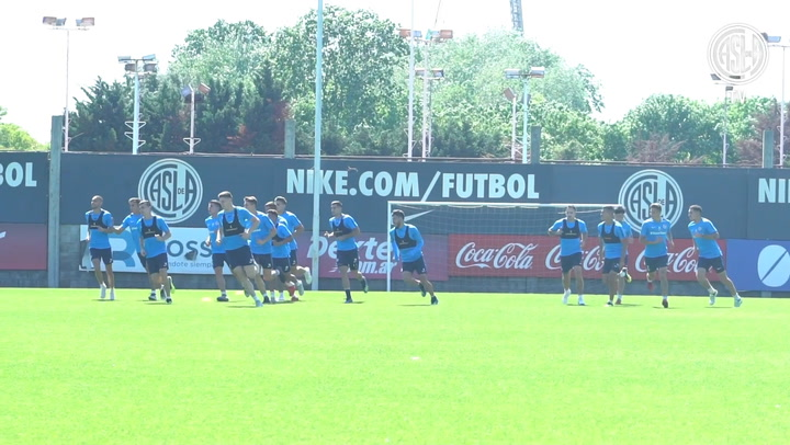 Behind The Scenes Of San Lorenzo's Training