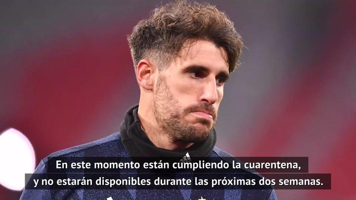 Flick confirma que Javi Martínez ha dado positivo por coronavirus