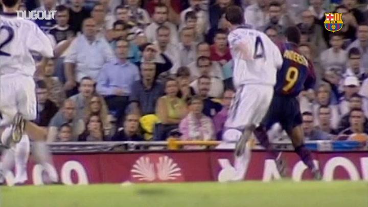 FC Barcelona's Most Historic goals in El Clásico