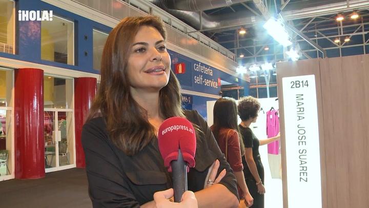 María José Suárez recuerda su \'gran boda griega\' y desvela si tiene planes de ampliar la familia