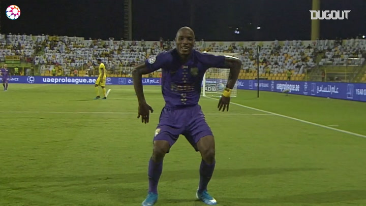 Arabian Gulf League: Kodjo Fo-Doh Laba's best goals for Al Ain
