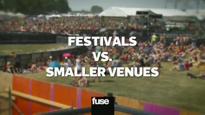 Lollapalooza Memories 2 Festivals vs Small Venues