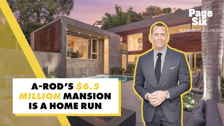 Take a Look at Alex Rodriguez's Fabulous Hollywood Hills Mansion