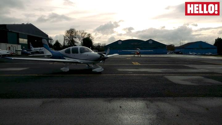 HELLO! goes flying