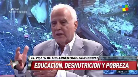 Alieto Guadagni: En la Argentina no hay más pobres, hay excluidos