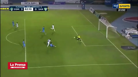 Junior Lacayo anotó el tercer gol en el triunfo de Comunicaciones