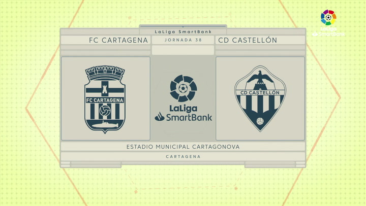 LaLiga SmartBank (J38). Resumen y gol del Cartagena 1-0 Castellón
