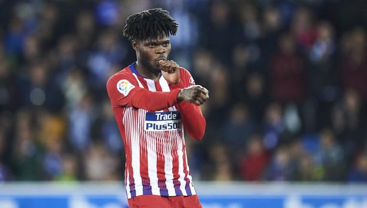 LaLiga: Alavés - Atlético Madrid. Gol de Thomas en el minuto 84 (0-4)