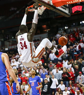 Rebel Nation: UNLV Wins Overtime Thriller vs. Boise State, Where Will the Team Place in the MW Tournament? – VIDEO