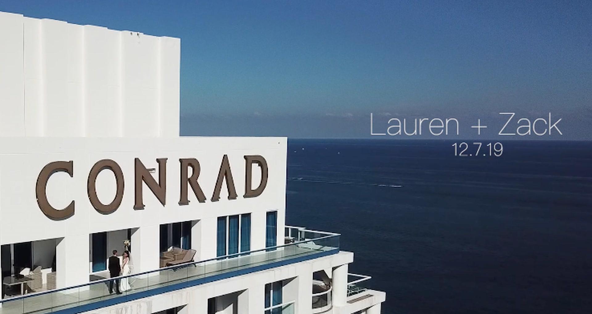 Lauren + Zack   Fort Lauderdale, Florida   Conrad Fort Lauderdale Beach