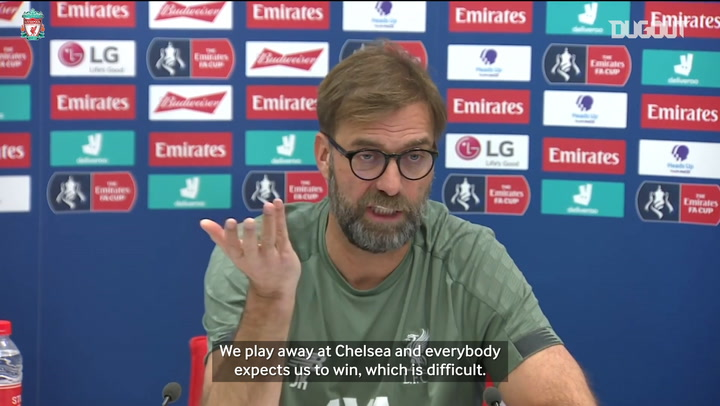 Jürgen Klopp assesses Chelsea's threats ahead of FA Cup clash
