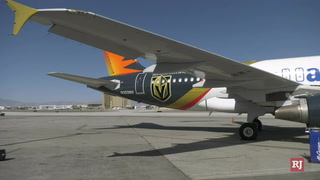 Allegiant Unveils Golden Knights Plane – Video