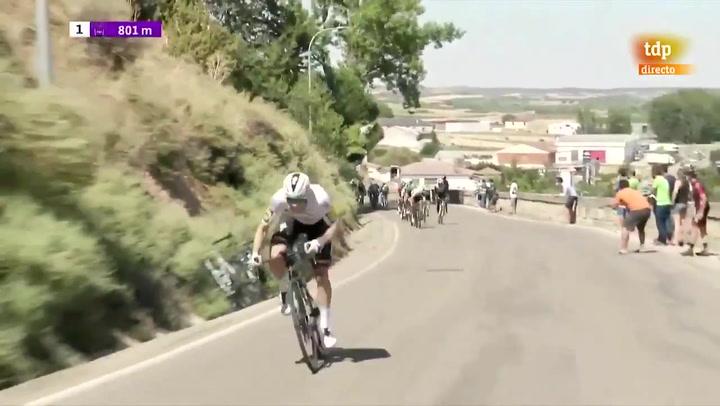 Victoria de Sam Bennett en Burgos tras un accidentado final de etapa